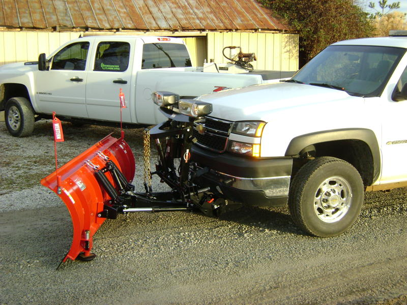 Commercial Snow Removal Plow Truck