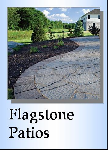 Flagstone Patios and Flagstone Walkways Landscaper Millstadt, IL
